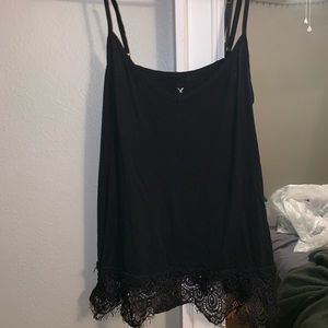 American Eagle- soft and sexy line- black tank